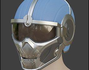 3D printable model Best details Taskmaster helmet mask 4