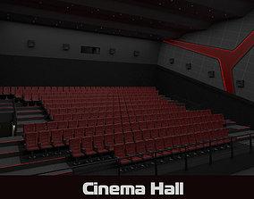 Cinema hall 3d model