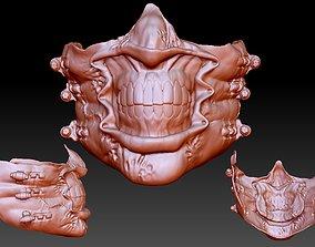 3D print model hellraiser chatterer mask