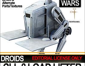 CLL 8 Load Lifter Droid Star Wars 3D model