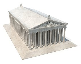 3D asset Temple of Artemis