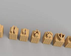 Traces of pets 3D print model