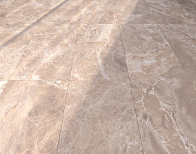 3D Marble Floor Alpha Beige Set 1