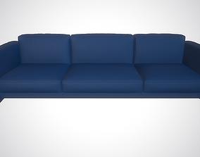 animated Sofa 3D model interior