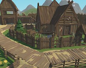 RPG Poly Pack - Slavic Town 3D model