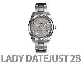 3D Rolex Lady-Datejust 28 Watch