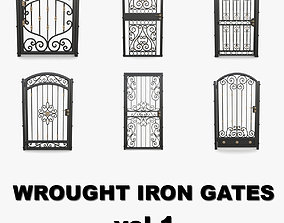 3D model Wrought iron gates collection vol1