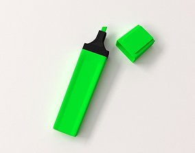 3D model Highlighter Pen
