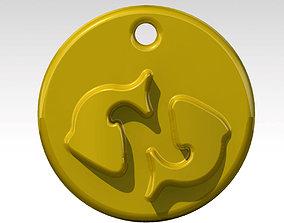 3D printable model PISCES virgo