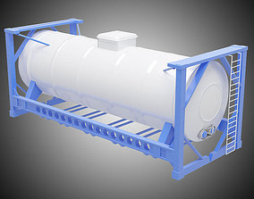 water 3D Oil tank