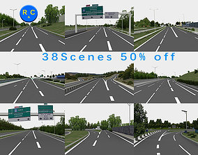 public highway navigation 3D road