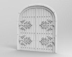 Gothic Door B 3D