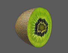 Kiwi Half 3D model