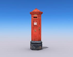 3D asset Post Box