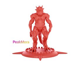 Chubby Dragonborn 3D print model
