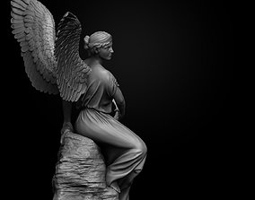 3D print model Angel Statue art-and-medium