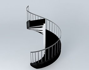 spiral 3D Spiral Staircase