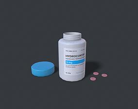 Pills Hydrocontin 3D model realtime