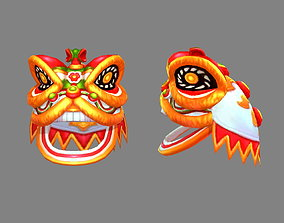 Traditional Chinese Festival -Lion Dance 3D model