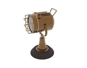 Old nautical table projector lamp 3D model