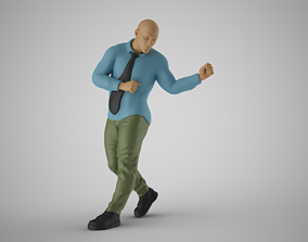 3D printable model Man Getting Promotion