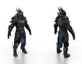 3D model realtime Phoenix Full Body Armor