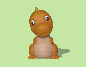 A Tyrannosaurus Rex to decorate and 3D print model
