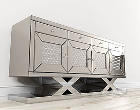 3D flat Montreal Accent Cabinet