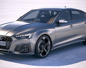 3D model audi Audi A5 Sportback S-line 2020