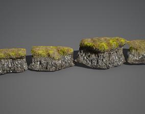 3D model UE4 - River Banks