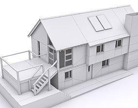 Townhouse 11 3D asset