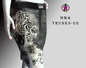 3D asset MMA Trunks-02