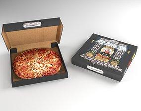 Pizza Package 3D asset