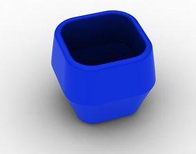 3D print model pot 3