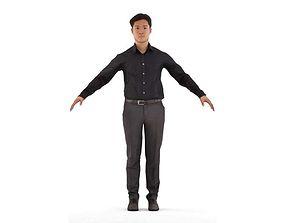 Toshiro rigged 1 3D