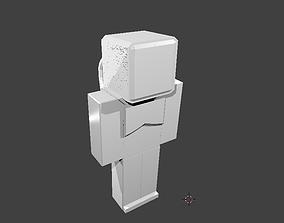Armor For Minecraft Seva 3D model