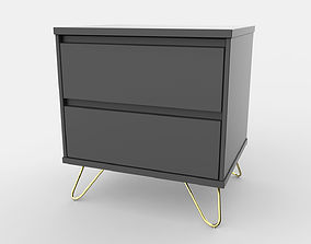 Elona Bedside Table 3D model