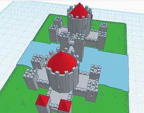 castle 3D print model