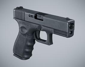 Glock 19 Classic - Game Ready 3D model
