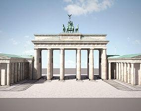3D Brandemburg Berlin Gate