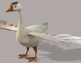 Duck V01 3D model