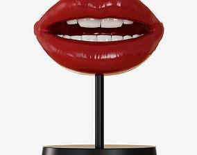 medical Figurine Lips 3D model