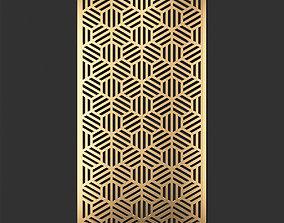 Decorative panel 234 3D