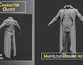 Character Outfit - Marvelous Designer 3D