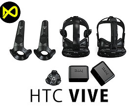 HTC Vive Set 2 3D model