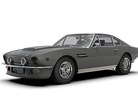 Aston Martin V8 Vantage Classic Car 3D model