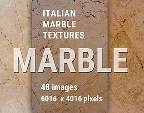 3D Marble natural stone textures