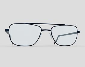 Glasses 5 3D model VR / AR ready