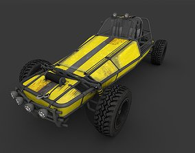 Dune Buggy 3D model game-ready