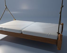3D suspended bed
